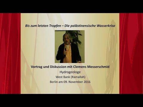 Bis zum letzten Tropfen - Vortrag und Diskussion mit Clemens Messerschmid