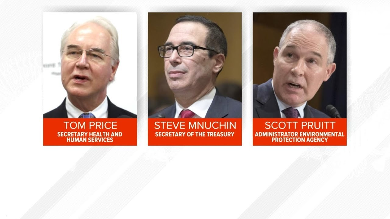 Trump Cabinet members under fire for travel spending - YouTube