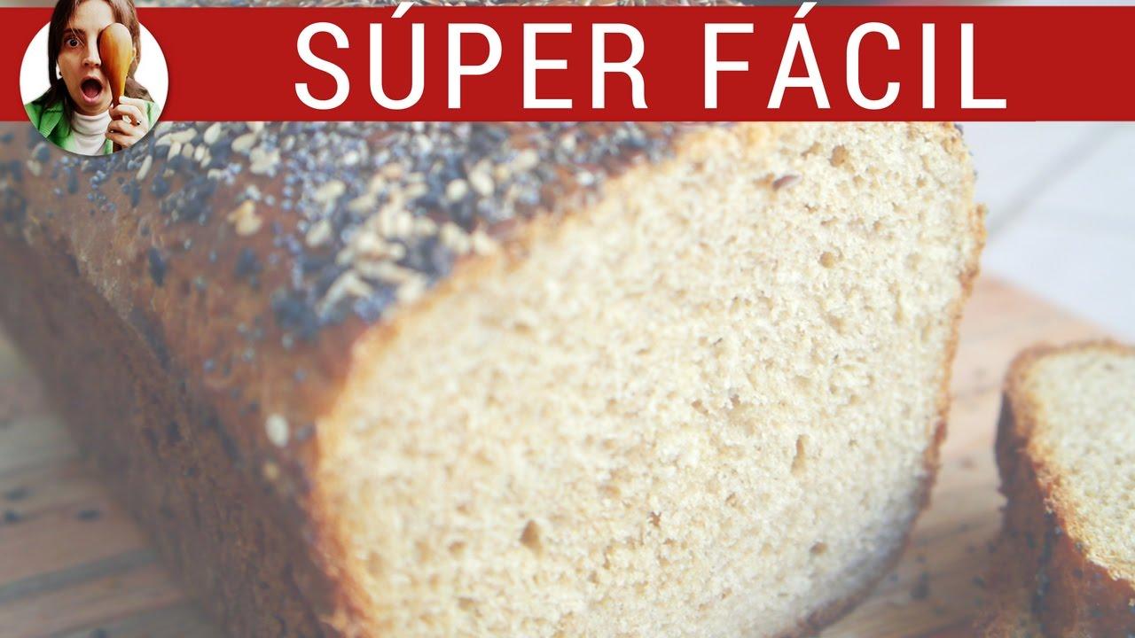 Cómo hacer pan INTEGRAL casero FÁCIL / Recetas de pan integral - Paulina Cocina