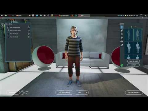 Making a custom avatar for Sansar by editing the reference files
