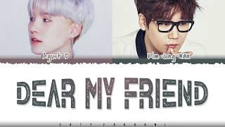Download Lagu AGUST D - DEAR MY FRIEND Feat Kim Jong Wan Color Coded MP3