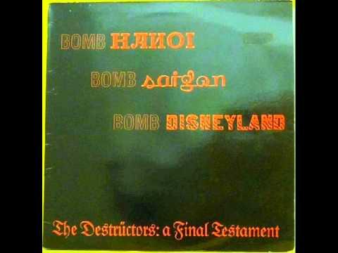 The Destructors  - A Final Testament  comp lp '84