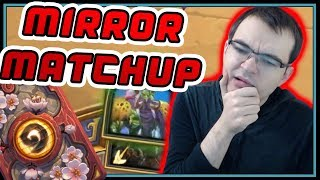 How to handle mirror matchup - Zul'jin vs Zul'jin | Rise of Shadows | Hearthstone
