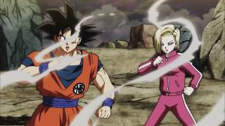 Android 18 helps son goku vs pride troopers tupper & zoiray knocks out off,english sub,1080p