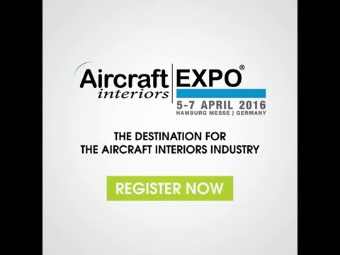 Visit the destination for the aircraft interiors industry