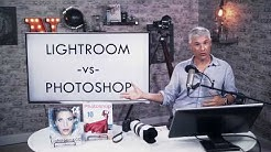 Lightroom vs. Photoshop: Which should you Buy?