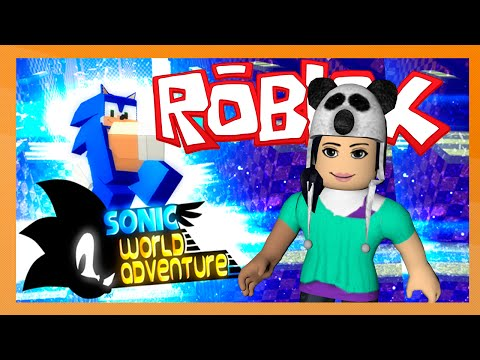 Roblox – SONIC WORLD ADVENTURE (MAPA TEMÁTICO)
