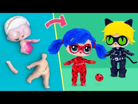 ¡Nunca Eres Grande para las Muñecas! 6 Diys de Ladybug para Lol Surprise