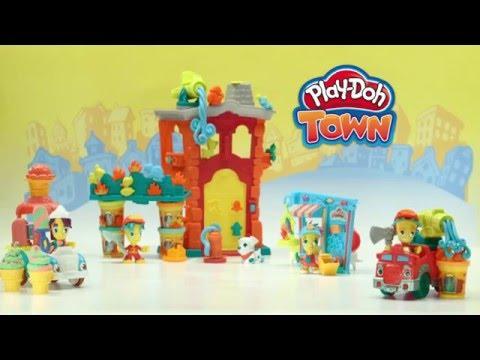 Пластилин Play Doh Town. Плей До Город - Лепка.рф