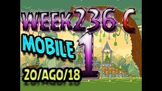 Angry Birds Friends Tournament Level 1 Week 326-C  MOBILE Highscore POWER-UP walkthrough