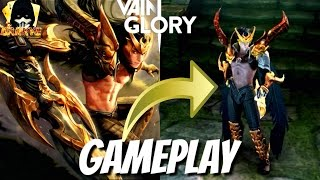 Vainglory 2.4 Champion's Fat Blackfeather (L) New Skin #DARKYE