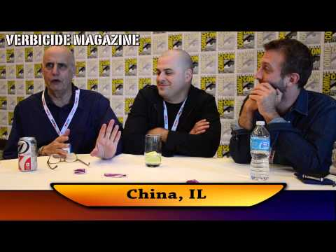 China, IL  San Diego ComicCon 2013 Press Roundtable  Series