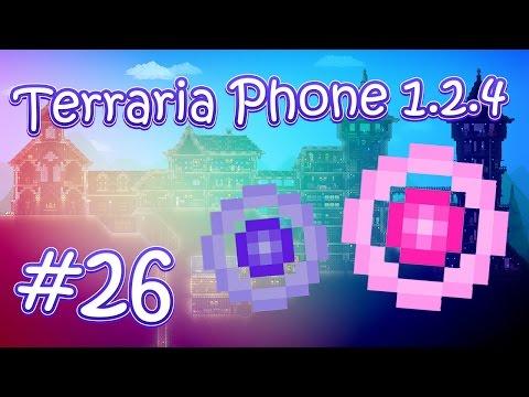 видео: lp. hm. terraria phone 1.2.4 #26 (Фермы эссенций света и тьмы)
