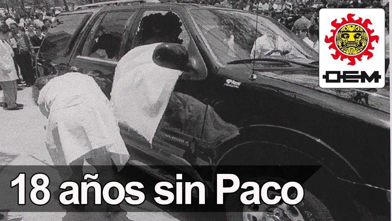 Se Cumplen 18 Años Del Asesinato De Paco Stanley / OEM