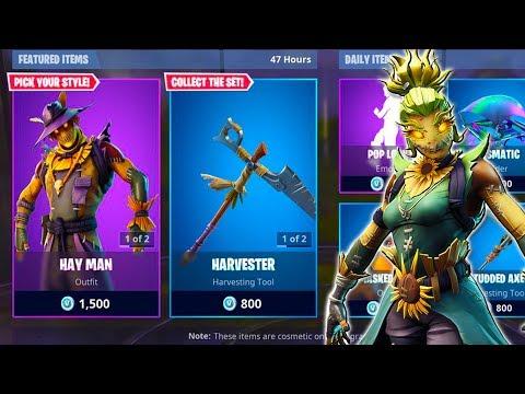 new-hay-man-straw-ops-skins-gameplay-winning-w-both-skins-fortnite-battle-royale