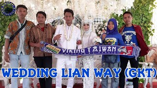 VIKING TAIWAN - WEDDING LIAN WAY (GKT) GARIS KERAS TAIPEI 😍😍