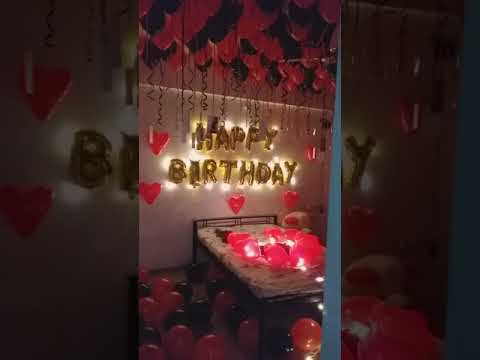 How to Decorate Home on Girlfriend Birthday.