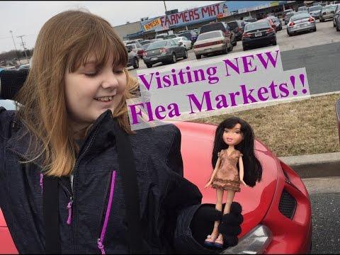 Flea Market Finds! Visiting Indoor Flea Markets In Maryland!!