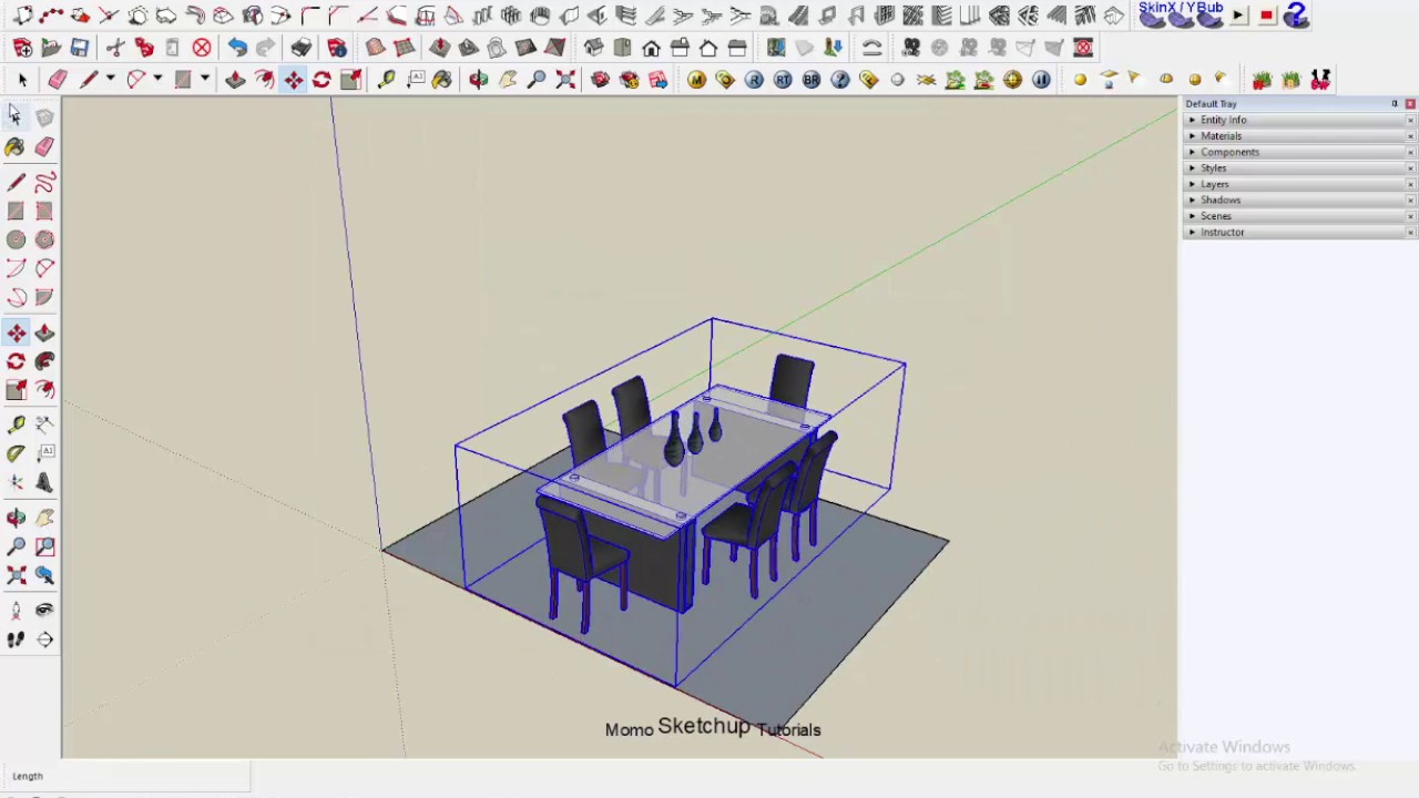 Sketchup: 3D ware house how to downloads components