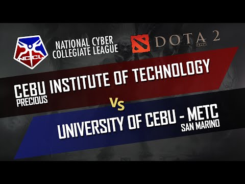 DOTA 2: Cebu Institute of Technology vs University of Cebu (NCCL Dota2 Viz-Min) Group Stage - DUNOO