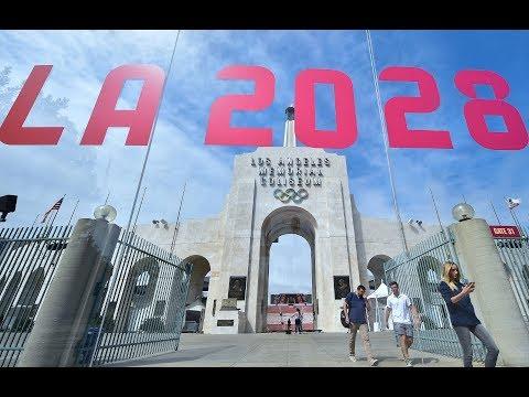 US Olympians react to 2028 Summer Games in LA bid success