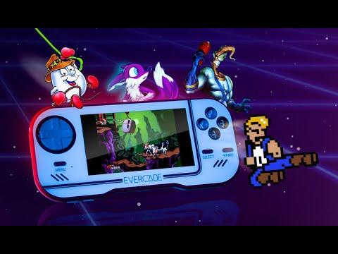 Evercade crams retro games onto handheld/home console hybrid