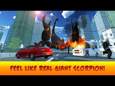 🦂Giant Scorpion Animal Attack People Game-Отака Гигантского Скарпиона - By Virtual Animals World
