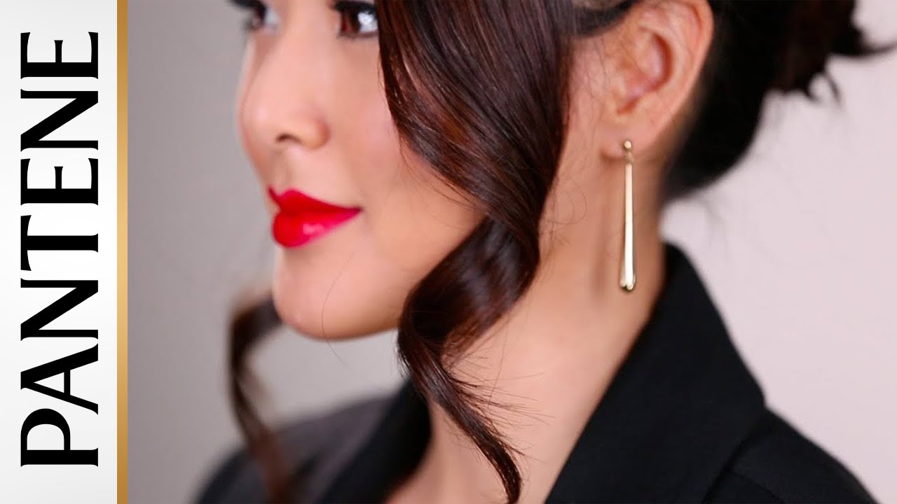 Red Carpet Hairstyles Romantic Updo With Frmheadtotoe Youtube