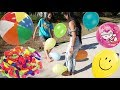 Foot Balloon Popping Challenge !!