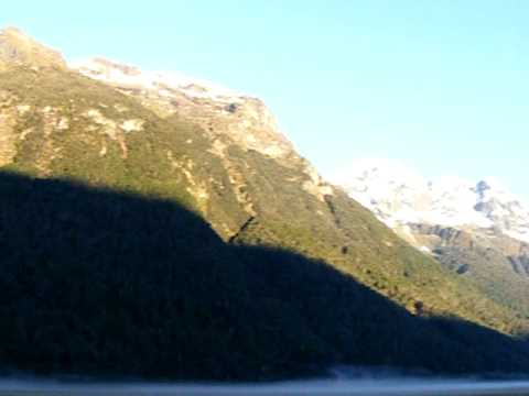 Highway 94 to Milford Sound, New Zealand