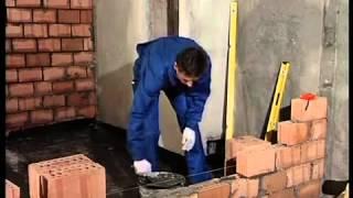 Как построить кирпичную стену своими руками