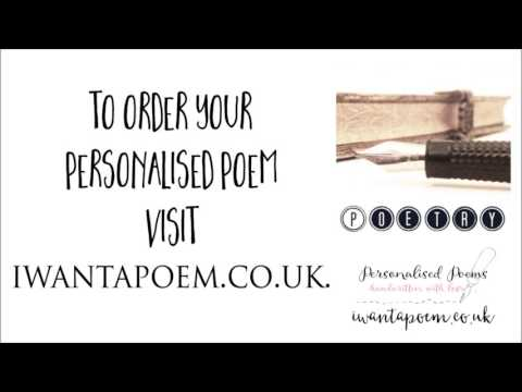 Personalised Father's Day Poems ~ iwantapoem.co.uk