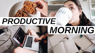 Productive Summer Morning Routine 2019 (meet my assistant!)