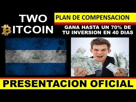 TWO BITCOIN NICARAGUA - Gana hasta el 70% de tu inversión en 40 días! - BITCOIN - FOREX