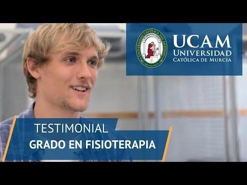 Por qué estudiar el Grado en Fisioterapia | UCAM Universidad Campus de Cartagena