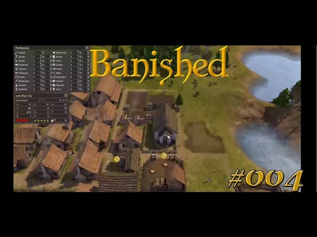 Let's Play Banished | Gesundheits-Situation | Folge #005