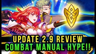 Update 2.9 Review & Thoughts - Combat Manual HYPE! | Fire Emblem Heroes
