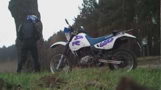 jazda enduro suzuki dr 650 r 93