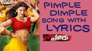 Yevadu Full Songs With Lyrics - Pimple Dimple Song - Ram Charan, Sruthi Haasan, DSP