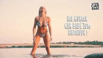 Xtreme Car Babes Hostess Henna Peltonen Photoshoot 2016
