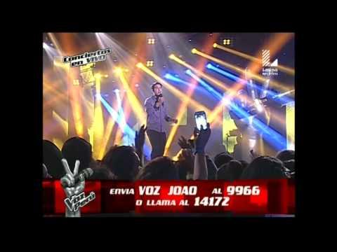 Joao Pereyra canta