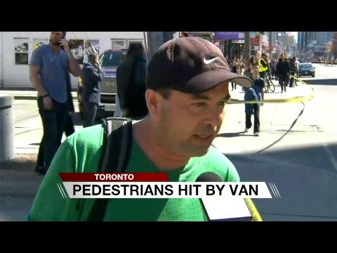 Toronto Pedestrians Hit
