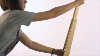 Jack Knife Easel - Il Cavalletto Pieghevole Che Diventa Boomerang - By Cappelletto