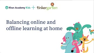 How do you balance online and offline learning in today's stay-at-home world? | Webinar recording
