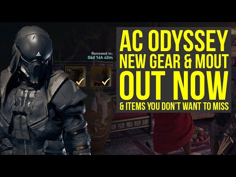 Assassin's Creed Odyssey Abstergo Elite Gear Pack OUT NOW & Amazing Weekly Items (AC Odyssey DLC) thumbnail
