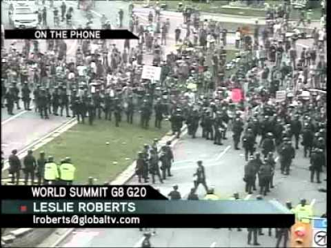 Toronto G20 riots from a media perspective