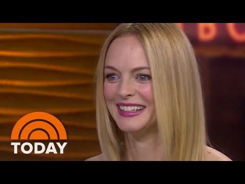 Heather Graham's Transformation Into An Old Woman | TODAY