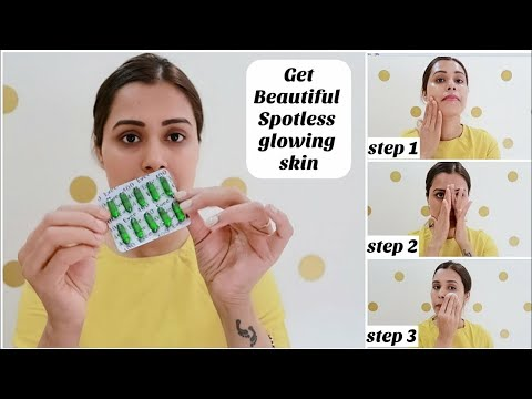 Vitamin E Oil Skin Treatment |Get Beautiful ,Spotless, glowing Skin