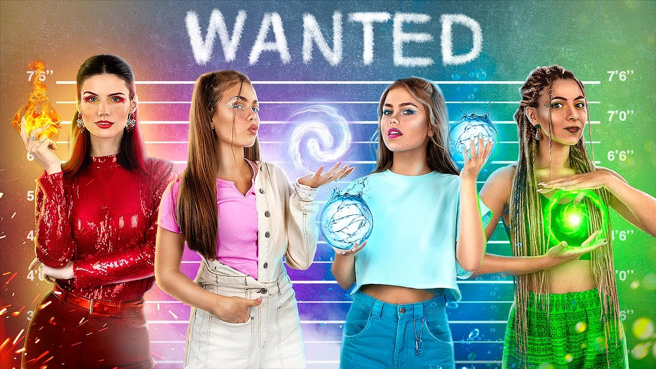 Download Escaping from the Four Elements Jail! Fire Girl, Water Girl, Air Girl and Earth Girl!