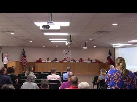 Belton ISD School Board Meeting 17 April 2017